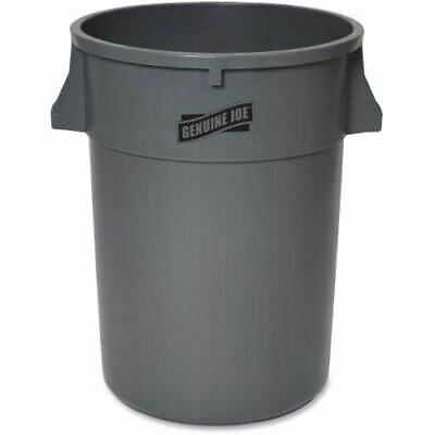 Genuine Joe 44-Gallon Heavy-duty Trash Container 11581