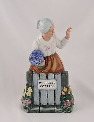 Royal Doulton Figurine Thank You HN2732 Nursery Rhymes Series Bluebell Cottage