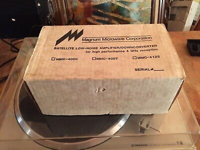 Magnum Microwave Low-Noise Block Downconverter MMC-4007-1
