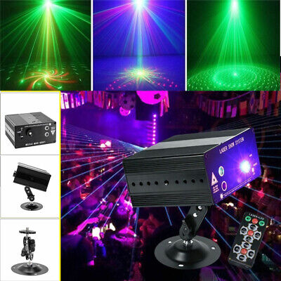 48 Pattern Laser Projector Stage Light Mini LED RGB Lighting Party Disco DJ KTV