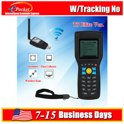 WIRELESS BARCODE SCANNER Data Inventory Collector Terminal With Search  Engine