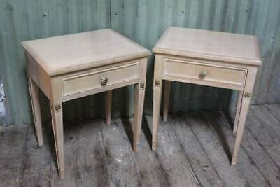 A Pair of Vintage French Bedside Bedsides - Matching Bed Head in other Listing