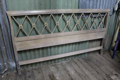 A Vintage French King Size Bed Head - Matching Bedsides in other Listing