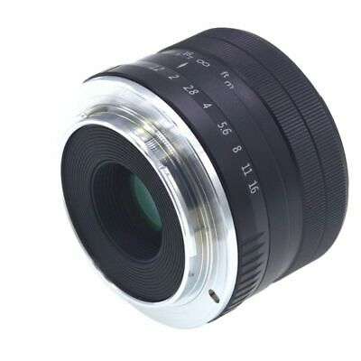 35MM Prime Large Aperture Manual Focus Lens for Sony E Mount Mirrorless Cameras