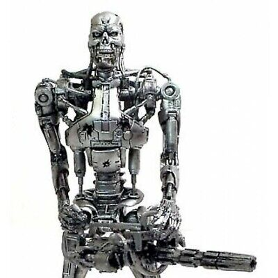 Neca Terminator 2 Judgment Day Endoskeleton Battle Damaged Action Figure New!! N