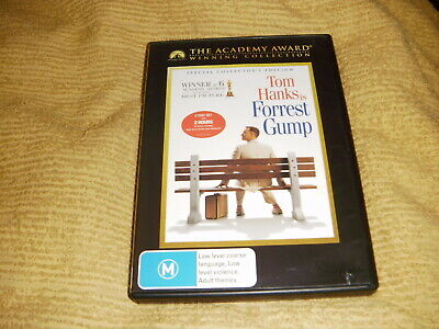 Special Collector's Edition FORREST GUMP comedy 1994 = 2 DVD as NEW Tom Hanks R4