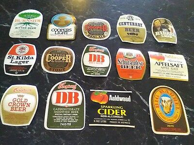 Collectible Beer & Cider Labels - VARIETY OF DESIGNS TO CHOOSE FROM - ALL UNUSED