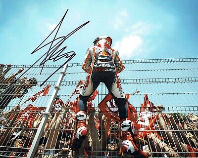 Marc MARQUEZ 2019 SIGNED 10x8 Autograph Photo 5 AFTAL COA MOTOGP World Champion