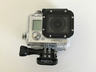 GoPro HERO3 White Edition 16 MB Camcorder No charger - Tested & Works Free Ship