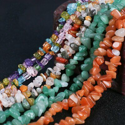 New Freeform Natural Gemstone Chips Beads For Jewelry Making Bulk in Lots Gift