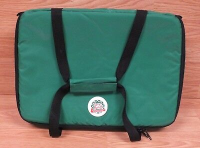 "Carry-Outs II (Z-8453) ""How Food Gets Carried Away!"" Green Insulated Bag READ"