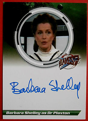 BLAKE'S 7 Barbara Shelley - Dr Plaxton - VARIANT 1 - Autograph Card, Unstoppable