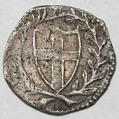 1649-1660 Commonwealth Great Britain Silver Penny 1D Coin