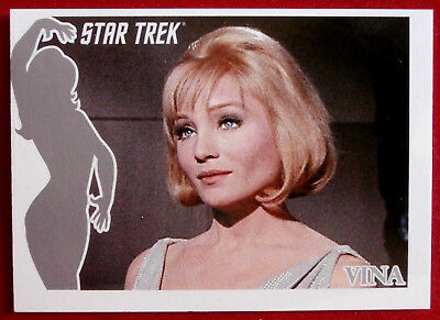 "STAR TREK TOS 40th - ""FACES OF VINA"" CHASE CARD - FV3 - Rittenhouse 2006"