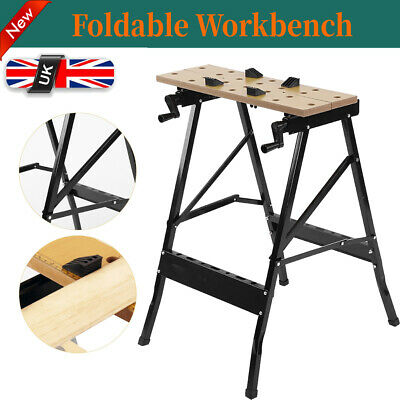 Phenomenal Height Adjustable Tilt And Clamp Folding Work Bench Trestle Camellatalisay Diy Chair Ideas Camellatalisaycom