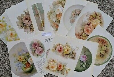 Roses - a large packet of 10 Helen Humes patterns