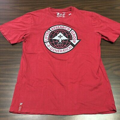 lrg lifted research group shirt small
