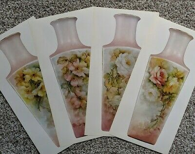 Rose Vase by Helen Humes - 4 sides - 4 patterns