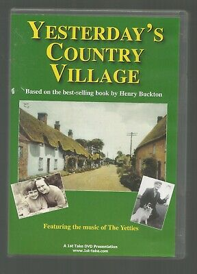 YESTERDAY'S COUNTRY VILLAGE - based on Henry Buckton book - UK DVD - (100 mins)