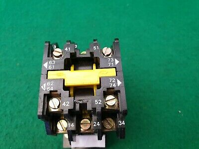 C23-10 Crabtree Ceicon Contactor  415 Volt Coil 30 Amp 11Kw