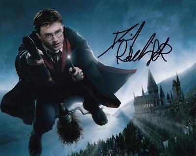 Daniel Radcliffe *Harry Potter* Signed Autograph 8x10 Photo COA