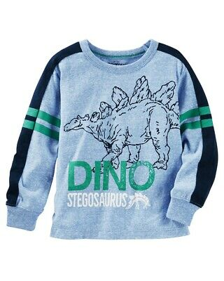 OshKosh B'gosh Baby Boys' Glow-in-The-Dark Dino Tee, 6 Months