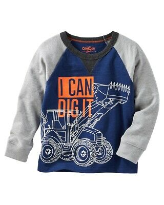 OshKosh B'gosh Baby Boys' Glow-In-The-Dark Raglan Tee, 12 Months