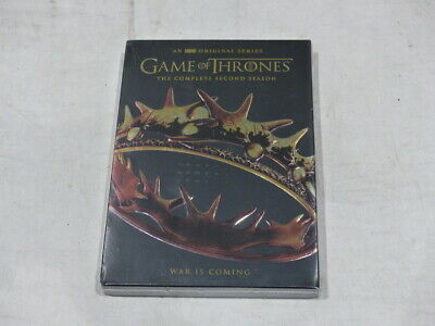Game Of Thrones: The Complete Second Season (Season 2) Dvd Set New / Sealed