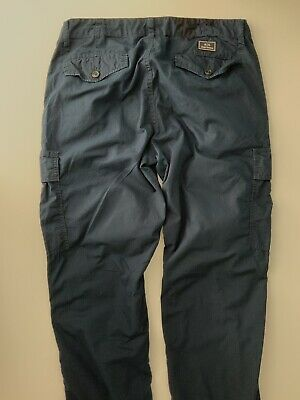 "Armani Exchange AX  Combats Trousers W32""  L30"" Vgc Mens Navy Blue"