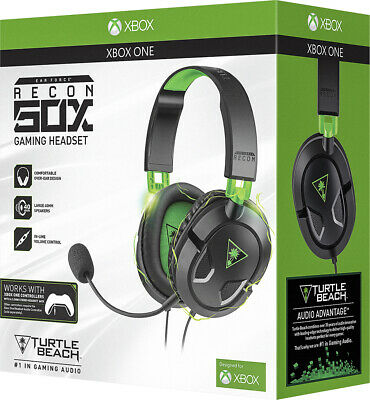 Turtle Beach Ear Force Recon 50X Stereo Gaming Headset Headphones XboxOne Sealed