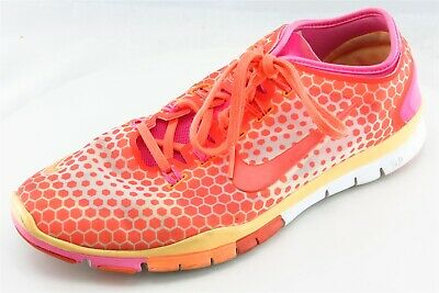 watch 620d7 1364a Nike Free TR Connect 2 Running Shoes Orange Fabric Women10Medium (B, M)