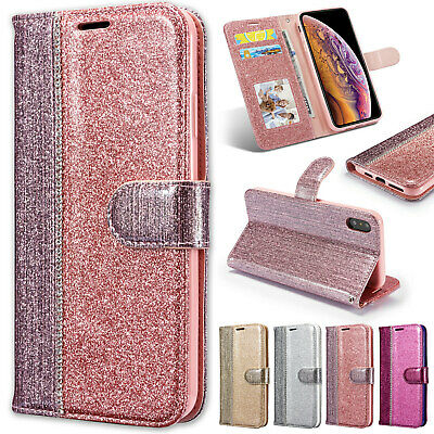 iPhone XS Max XS X XR Case Magnetic Leather Wallet Stand Flip Cover For Apple