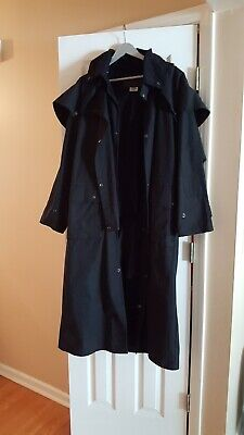5f8d445cac8 Outback Trail By Foxfire, Oilskin, Oilcloth Waterproof Duster. Size Medium