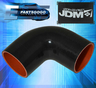 2 Inch 2 90 Degree Elbow Angle Temp Temperature Silicone Coupler Hose Piping Turbo Intercooler Pipe Intake Upgrade Replacement