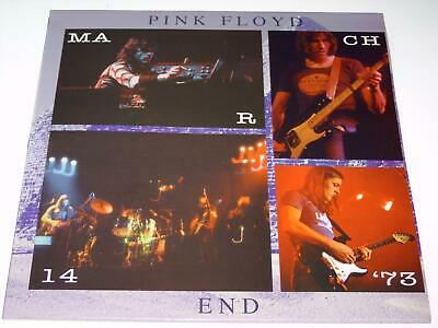 Pink Floyd - End Boston 1973 - Lp Red Vinyl Rare Concert Album Nm X654