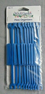 Stitch Garden floss organisers 12 pack of stitch bows