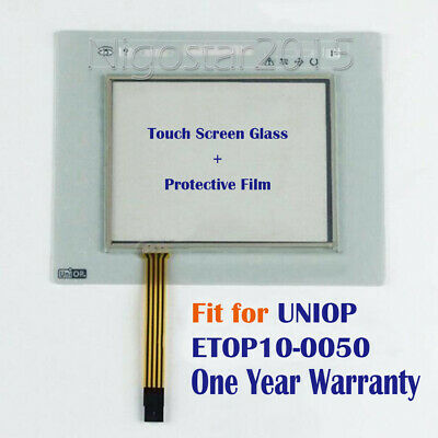 New for UNIOP ETOP10-0050  ETOP100050 Touch Screen Panel + Protective Film