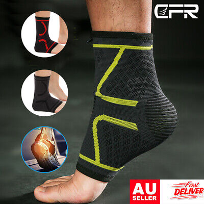 Ankle Support Compression Plantar Fasciitis Sleeves Arch Foot Wrap Socks Injury