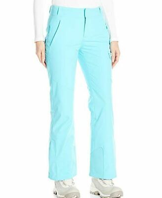 Spyder Womens Me Tailored Fit Pants,Ski Snowboarding, Size 4, Inseam Long (31.5)