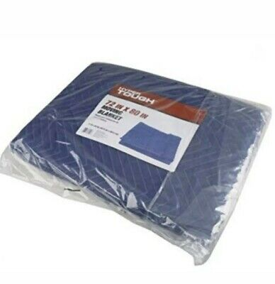 """72"""" X 80"""" Moving Blanket Hyper Tough For Protection And Insulation Of Valuables"""