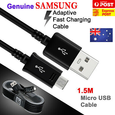5X Samsung Original Genuine Micro USB Data Charger Cable 1.5M Galaxy S4 S5 S6