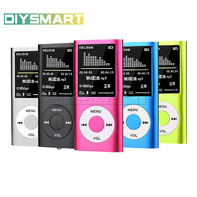 Thin and Portable 1.8″ LCD 32GB MP4 MP3 Music Media Video Player FM radio AU