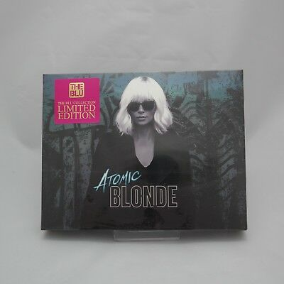 Atomic Blonde - 4K & Blu-ray Steelbook Full Slip Case Limited Edition / The BLU
