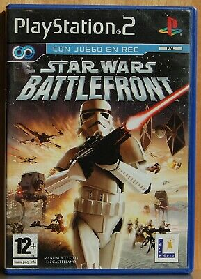 Star Wars Battlefront - Playstation 2 - Pal España - Completo