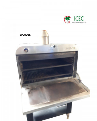 Inka charcoal oven 500 degrees cooking / is perfect for smaller spaces or whe...