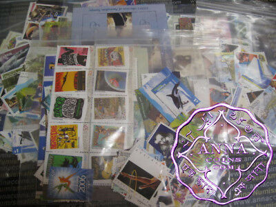Australian Face $1 (2 stamps) MUH Discount Postage Full Gum Stamps FV$300