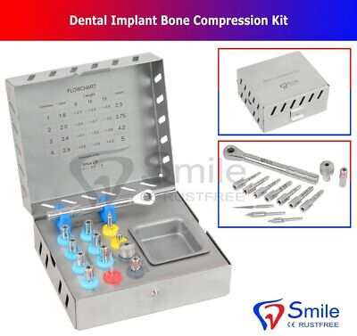 Bone Compression Kit Sinus Lift Bone Prosthodontic MIS Implants Surgical NEW CE