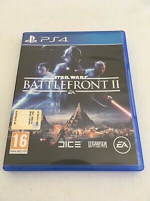 STAR WARS BATTLEFRONT II - PLAYSTATION 4 PS4 PAL ITA - usato