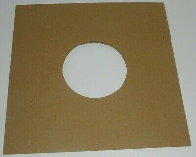"25 x NEW BROWN DIE-CUT HIGH-QUALITY PAPER SLEEVES for 10"" / 78rpm RECORDS"