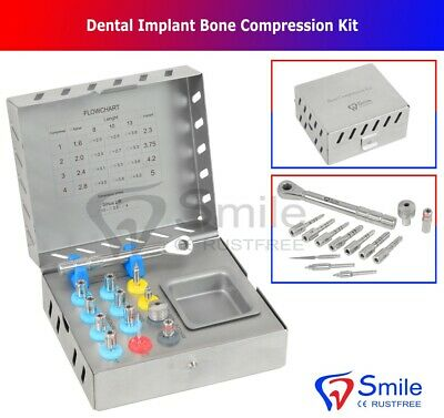 OS Compression Kit Sinus Levage Prosthodontic Mis Implants Chirurgical Neuf Ce